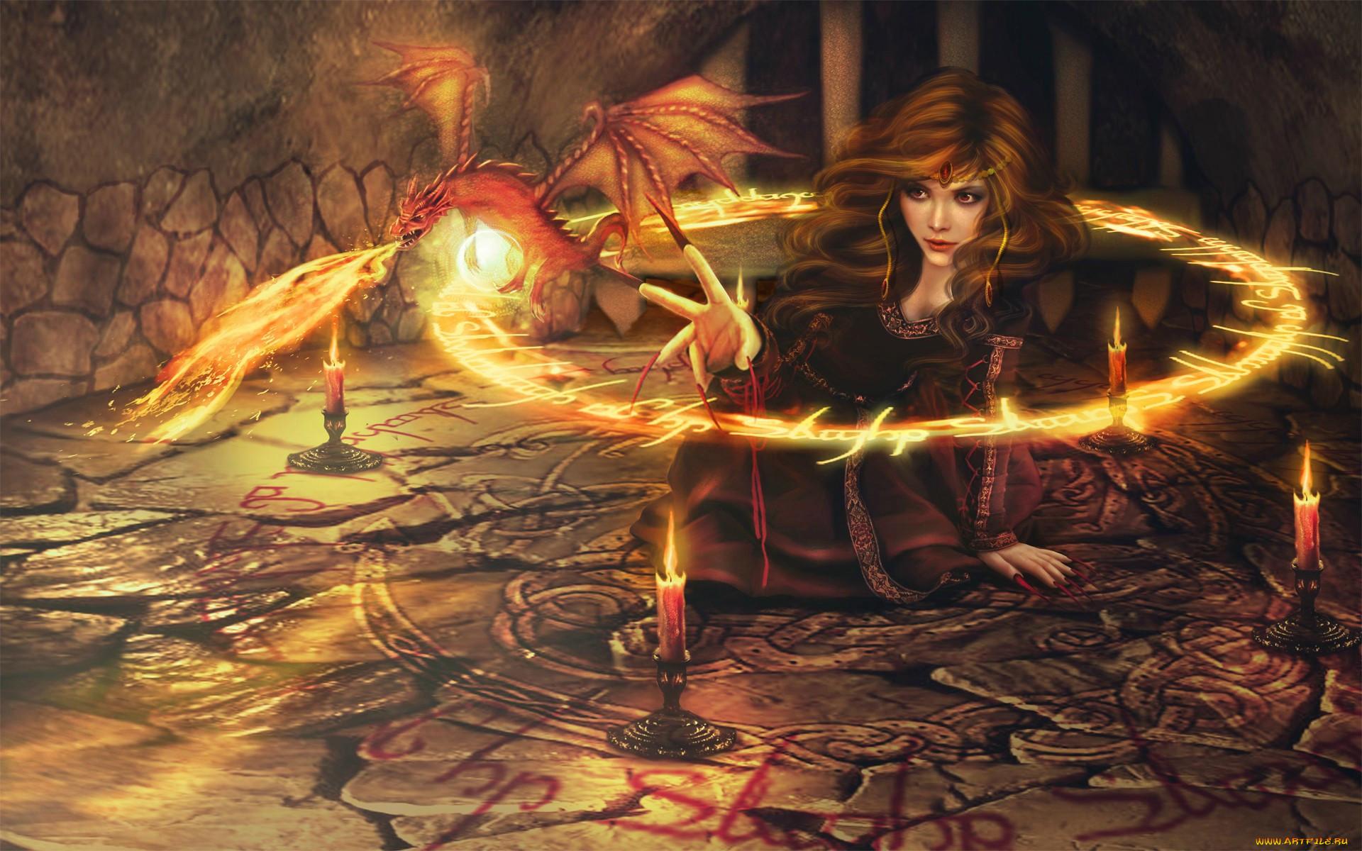 Магические картинки фэнтези